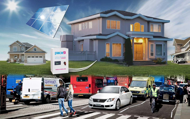 pace9 - 2kw solar generator